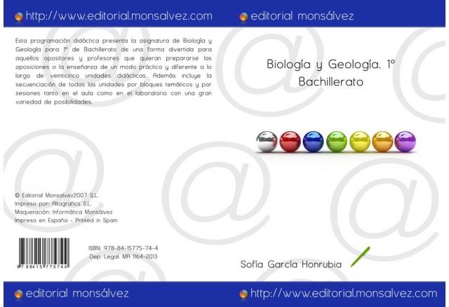 Biología y Geología. 1º Bachillerato