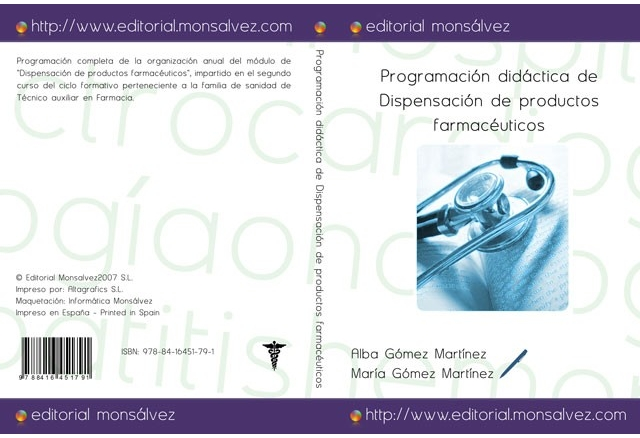 Programación didáctica de Dispensación de productos farmacéuticos