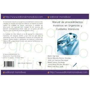 Manual de procedimientos invasivos en Urgencias y Cuidados Intensivos