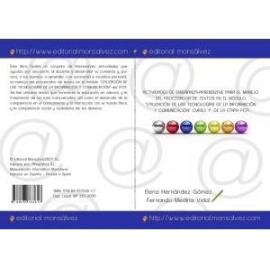 """Actividades de Enseñanza-Aprendizaje para el manejo del procesador de textos en el modulo """"Utilización de las tecnologías de la información y comunicación"""" CURSO 1º, DE LA ETAPA PCPI."""