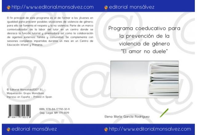 """Programa coeducativo para la prevención de la violencia de género """"El amor no duele"""""""