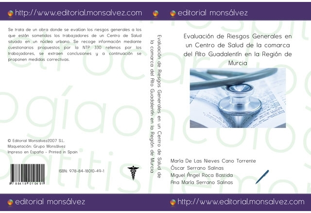 Evaluación de Riesgos Generales en un Centro de Salud de la comarca del Alto Guadalentín en la Región de Murcia