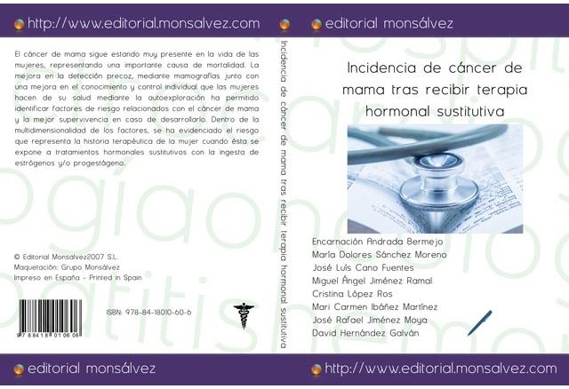 Incidencia de cáncer de mama tras recibir terapia hormonal sustitutiva