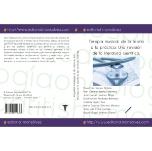 Terapia musical, de la teoría a la práctica: Una revisión de la literatura científica.