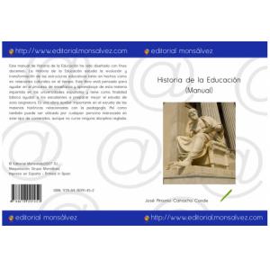 Historia de la Educación (Manual)