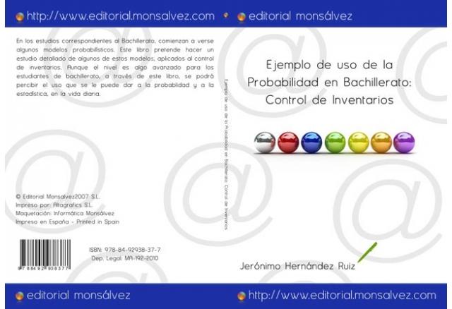 Ejemplo de uso de la Probabilidad en Bachillerato: Control de Inventarios